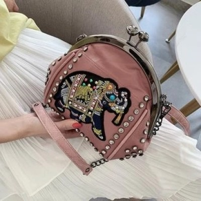 Ladies Retro Fashion Cross-body Bag
