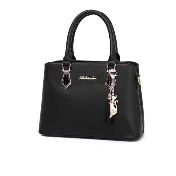 Zipper Pure Color Style Fashion Single-shoulder Cross-body Portable Backpack