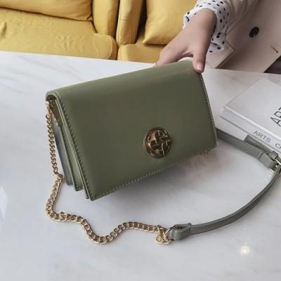 PU Fashion Package Hardware Rotary Lock Women Shoulder Bag