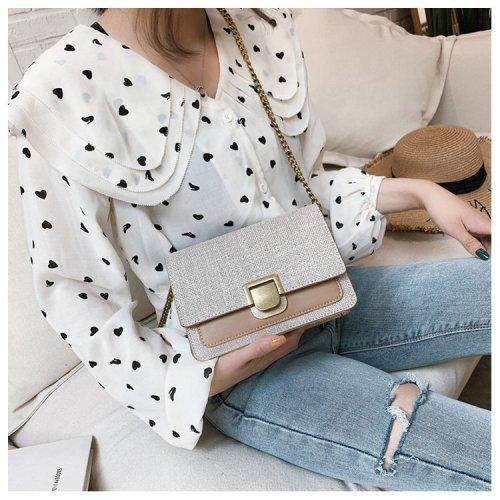 Wholesale Double Color Trendy Women Handbag Messenger Bag