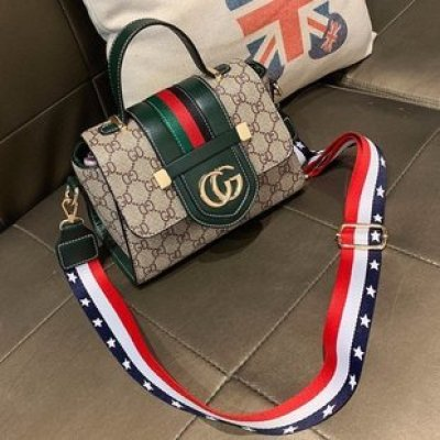 Hot Style Printed Small Handbag for Ladies