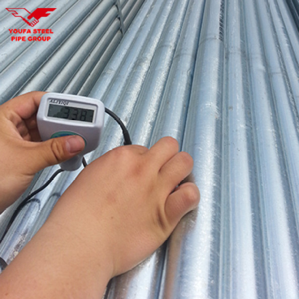 Youfa Wholesale ODM China ASTM A36 Schedule 40 Galvanized Hollow Section Seamless Steel Pipe Hot Rolled Pipe