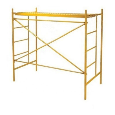 Manufacturers Construction Frame Scaffold Scaffolding H Frame Scaffolding Platform Galvanized Walk through Frame