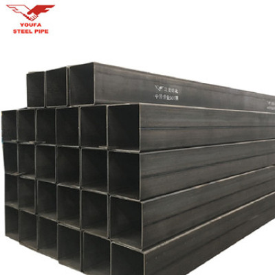 China Youfa Factory  Welded Black Square Rectangular Steel Tube Square Rectangular Hollow Section Pipe