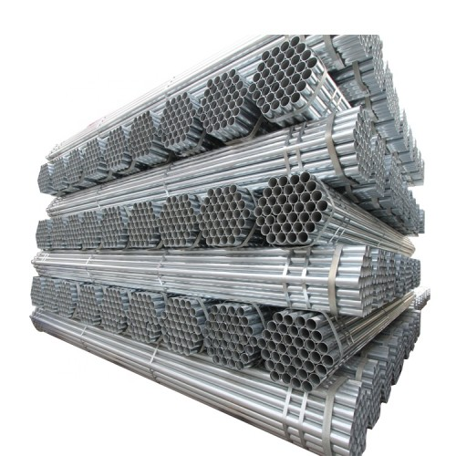 galvanized scaffolding carbon Round steel pipe Galvanized Tube For Construction