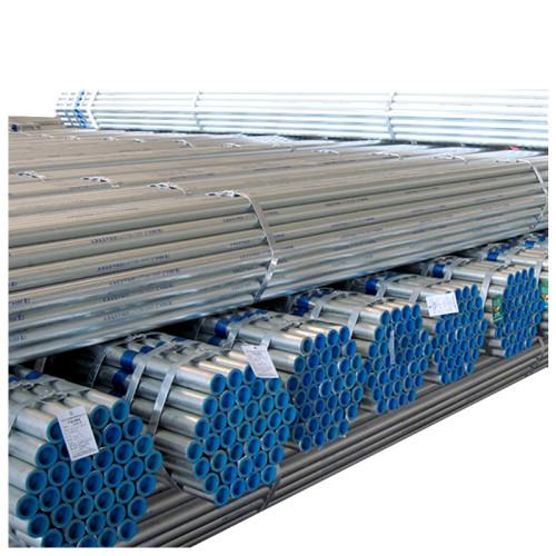 Customize size galvanized round steel pipe hot dip galvanized scaffolding steel tubes