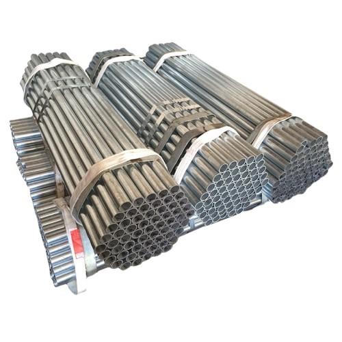 Hot Dip Galvanized Round Steel Pipe / GI Pipe Pre Galvanized Steel Pipe Galvanized Tube For Construction