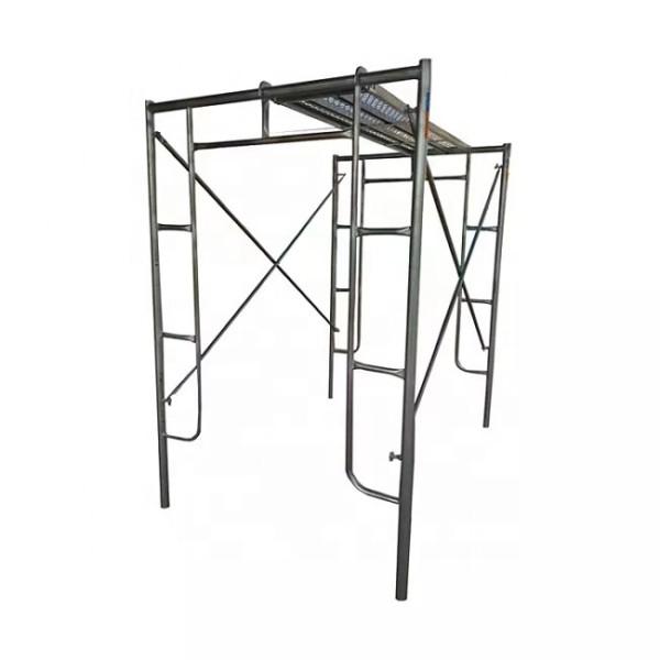 42*2.2 H frame Walk-thru scaffold frame scaffolding tube price