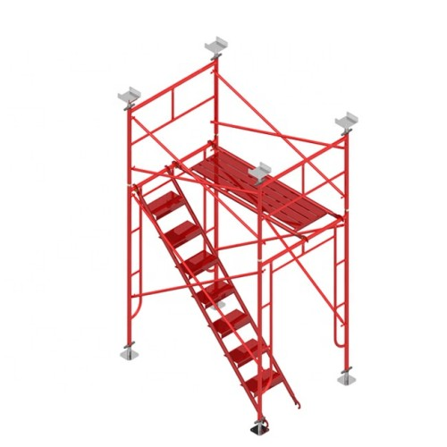 Galvanized Powder Coating Scaffold System h Frame Scaffolding For Construction
