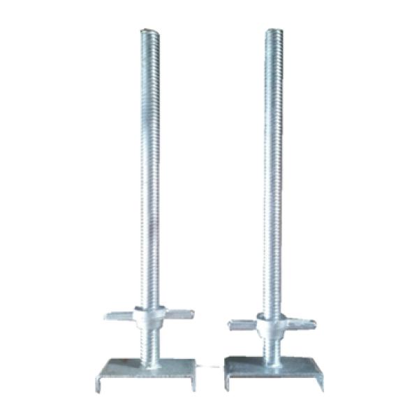 quality adjustable ringlock galvanized scaffolding U head and jack base