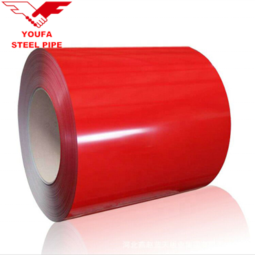 ral3001 Pre painted galvanized coils PPGI PPAZ iron steel coils roofing sheet