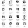 youfa high quality female threaded malleable bend elbow steel  pipe fitting