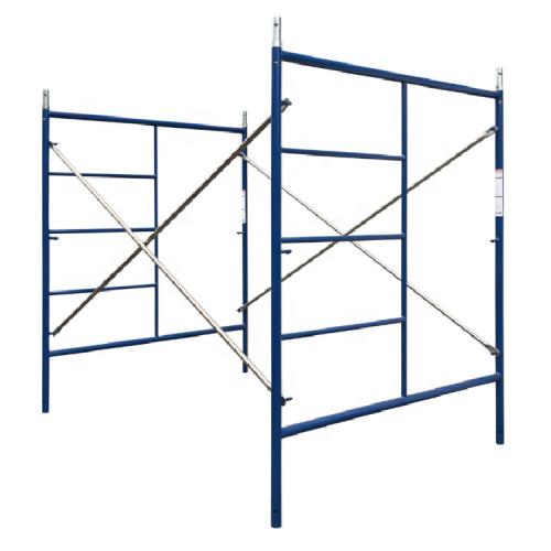 YOUFA Manufacturers Construction Frame Scaffold Scaffolding H Frame Scaffolding Platform Galvanized Walk through Frame