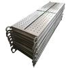Anti-slip scaffolding steel catwalk plank with hooks for metal scaffolding construction