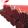 YOUFA factory Red Painted Groove End Fire Fighting  ERW Steel Pipe