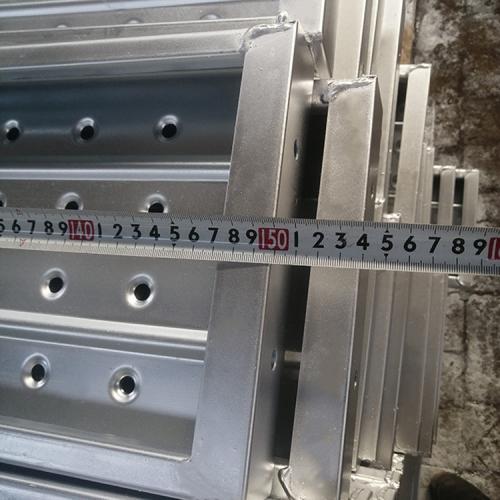 Pre Galvanized  Ringlock Scaffolding System Scaffolding Steel Planks Catwalk
