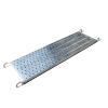 210mm  Galvanized scaffolding frame catwalk steel plank for construction