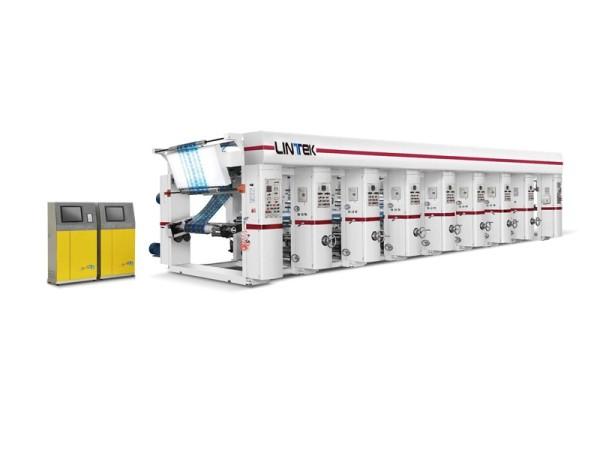 ZBAY-A Computerized Rotogravure Printing Machine(3 motor/7motor 80-120m/min)