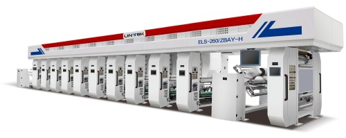ZBAY-H Computerized Gravure Printing Machine(7motor/ELS 220-260m/min)