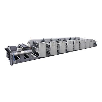YT-1000C Wide Web Unit Type Flexo Printing Machine
