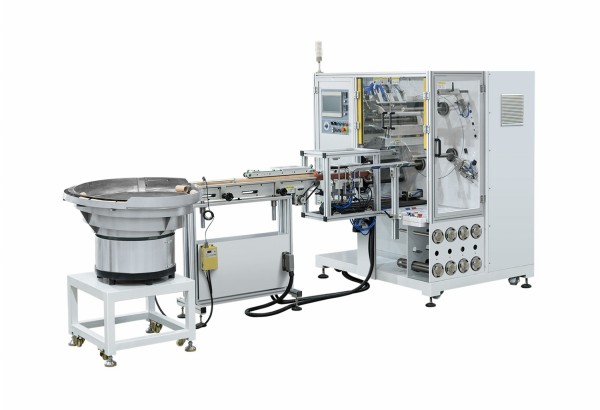 Automatic 4 Spindle Turret Rewinder for Label