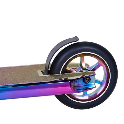 2 개의 합금 중핵 바퀴 신 크롬 표면 스턴트 스쿠터