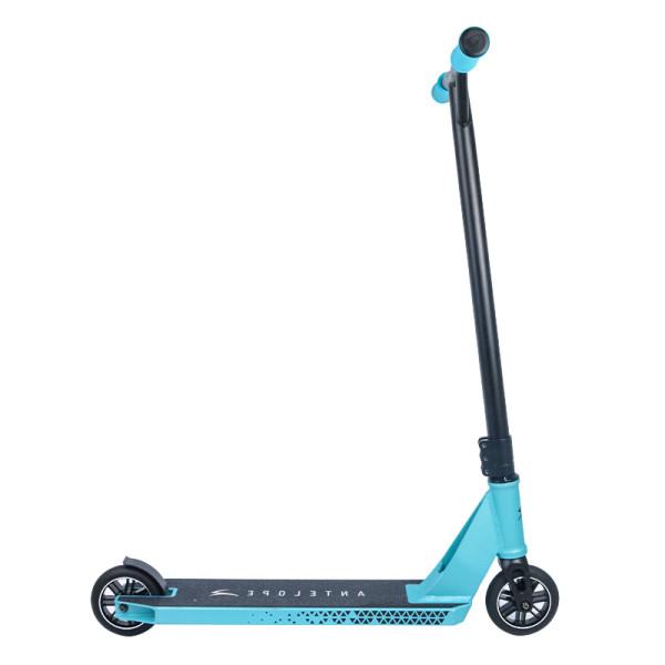 Qualidade superior personalizado liga duas rodas dublê de scooter com guia de aço cromado