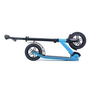 Scooter adulte pliable en aluminium de coup-de-pied de surface peinte avec le pneu d'air 2 roues