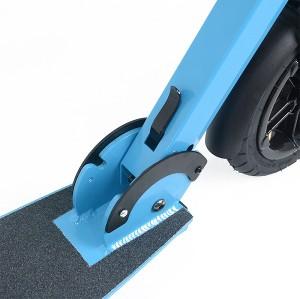 공기 타이어 2 바퀴를 가진 그려진 표면 접이식 알루미늄 성숙한 걷어차 기 스쿠터