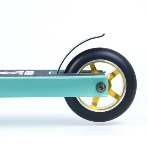 EN14619를 가진 싼 360의 자유형 합금 바퀴 곡예 스쿠터는 찬성했습니다