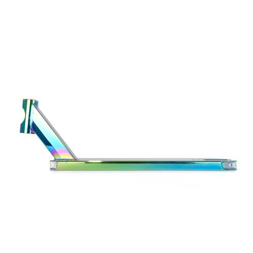 Plate-forme de scooter en aluminium 6061 Stunt kick Pro Fashion avec couleur arc-en-ciel sous vide