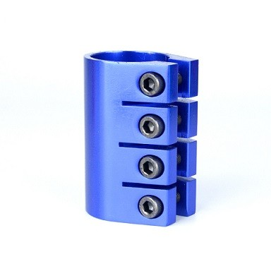 4 홀 알루미늄 6061 T6 아노다이징 스턴트 스쿠터 클램프 스쿠터 부품 및 액세서리