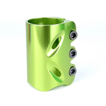 CNC aluminum 6061 anodizing stunt scooter clamp pro scooter parts with 3 bolts
