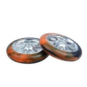 2 개의 바퀴 곡예 스쿠터를위한 합금 중핵 120mm 스쿠터 바퀴의 스쿠터 부속