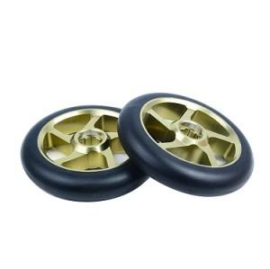 합금 중핵 120mm 스턴트 스쿠터 킥 스쿠터 부속품을위한 직업적인 스턴트 스쿠터 바퀴
