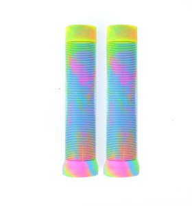 Color mezclado TPR Scooter Grips Pro Stunt Scooter Handle Bar Grips