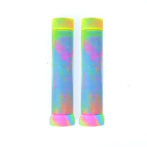 혼합 색깔 TPR 스쿠터 그립 직업적인 스턴트 스쿠터 손잡이 막대기 그립