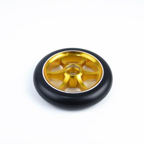 전문가 2 바퀴 성숙한 곡예 스쿠터를위한 120mm 직경 크기를 가진 합금 중핵 스쿠터 바퀴