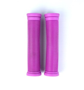 Purple TPR Scooter Grips Pro Stunt Scooter Handle Bar Puños de color personalizados