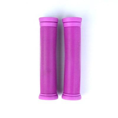 자주색 TPR 스쿠터 그립 직업적인 스턴트 스쿠터 핸들 막대기 주문을 받아서 만들어진 색깔 그립