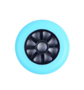110mm Thickened PU Scooter Wheels With Plastic Core For Two Wheels Stunt Scooters