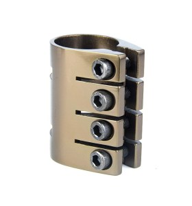 Factory Price Pro Scooter 4 Holes Anodized Clamp Aluminium CNC Clamps For Complete Stunt Scooter
