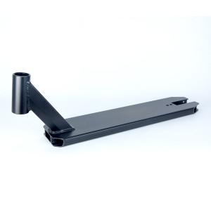 Plate-forme de scooter en aluminium noir mat 6061 pour scooter professionnel