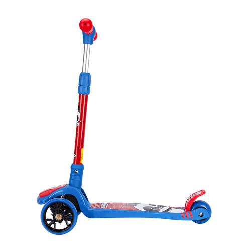 갑판 안쪽에 주문 팬더 도표를 가진 3 개의 LED 바퀴 아이 걷어차 기 발 스쿠터