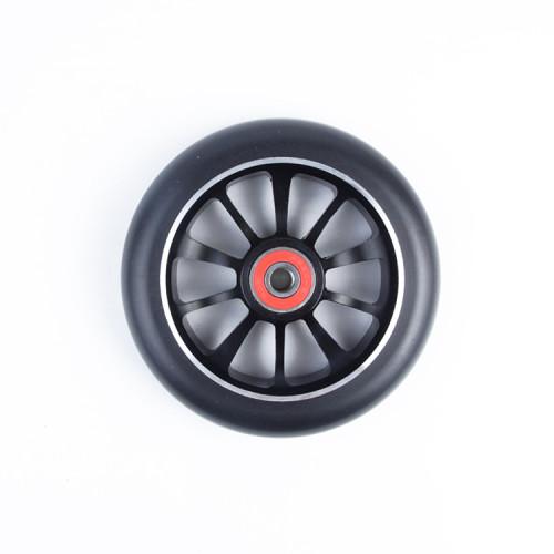 성인 스턴트 스쿠터를위한 110mm 직경 크기를 가진 합금 중핵 직업적인 스쿠터 바퀴