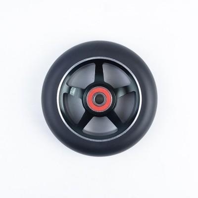 성인 스턴트 스쿠터를위한 100mm 직경 크기에있는 합금 중핵 직업적인 스쿠터 바퀴