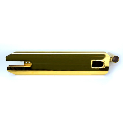 Plate-forme de scooter de cascade de chrome en aluminium d'or de commande numérique par ordinateur de haute précision CNC 6061 T6