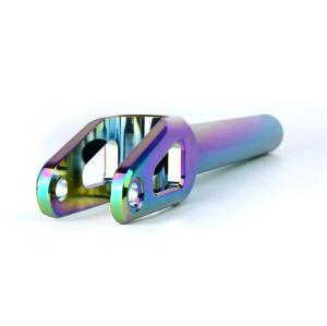 Aluminium CNC CNC Neo Chrome Rainbow Stunt Scooter Fork