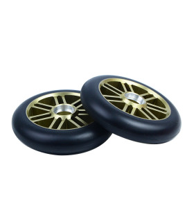 110 mm x 24 mm Alloy Core Pro Scooter Wheels With Custom Color