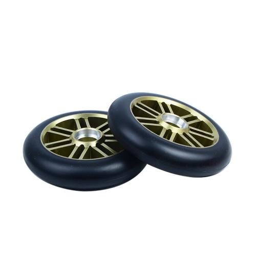 주문 색깔을 가진 110 mm x 24 mm 합금 중핵 직업적인 스쿠터 바퀴